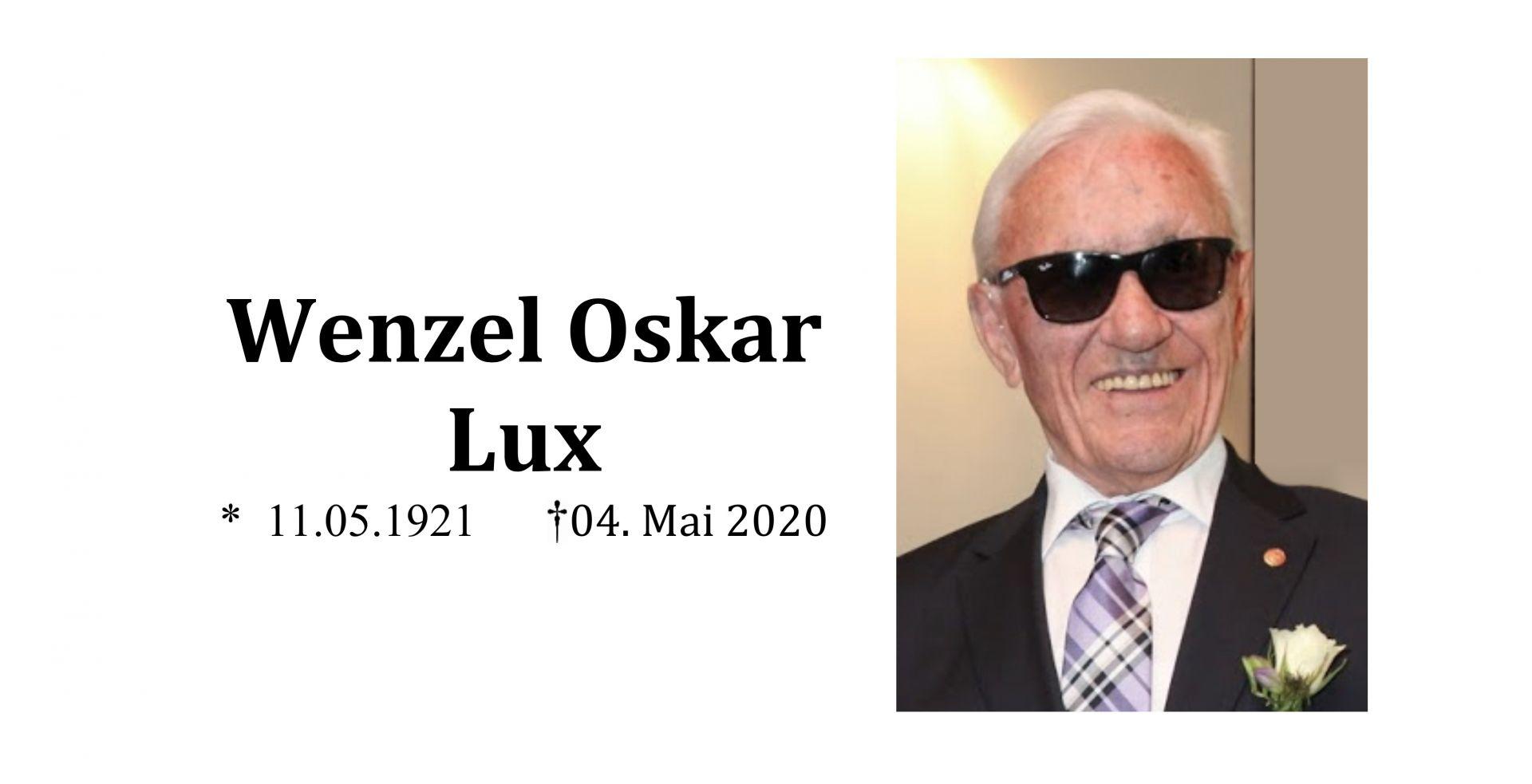 oskar wenzel lux - Wenzel Oskar Lux